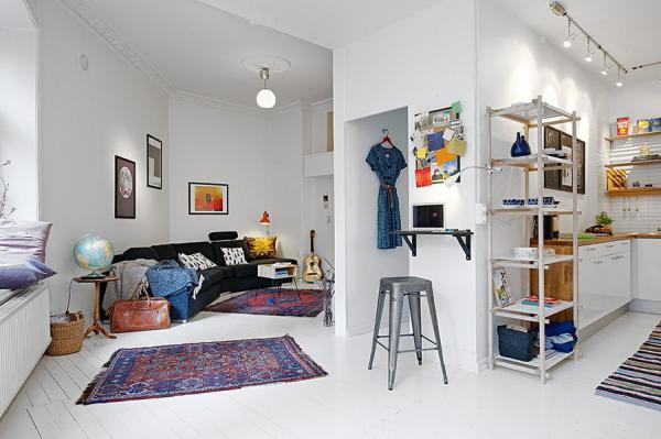 Где хранить много вещей в маленькой квартире