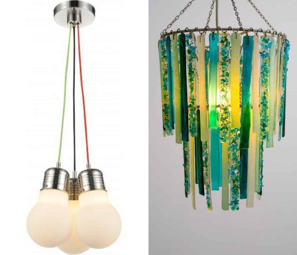 Креативные дизайнерские лампы модные в этом году