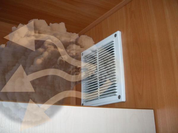 Что делать если в ванной дует холодный воздух с вентиляции