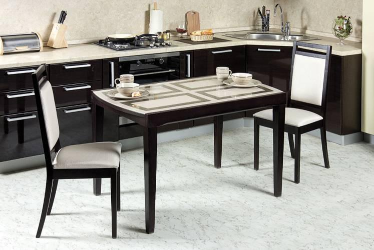 Как выбрать стулья для кухни по материалу изготовления