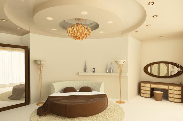 Лучшие решения для отделки потолка в спальне