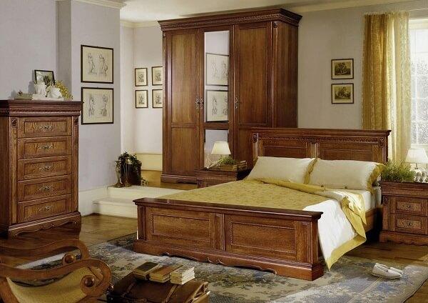 Мебель из массива дерева для разных комнат