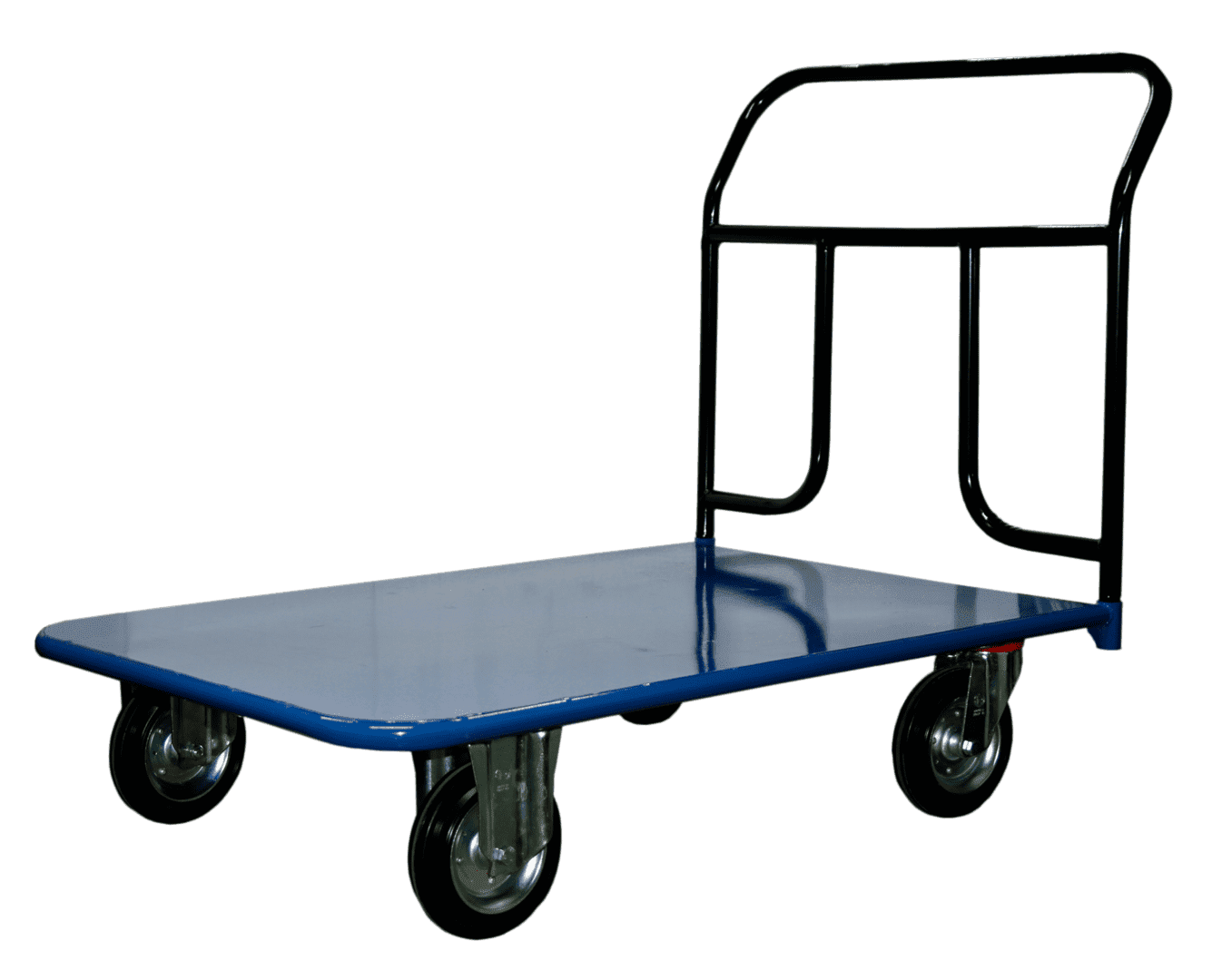 Основные особенности выбора платформенной тележки для склада