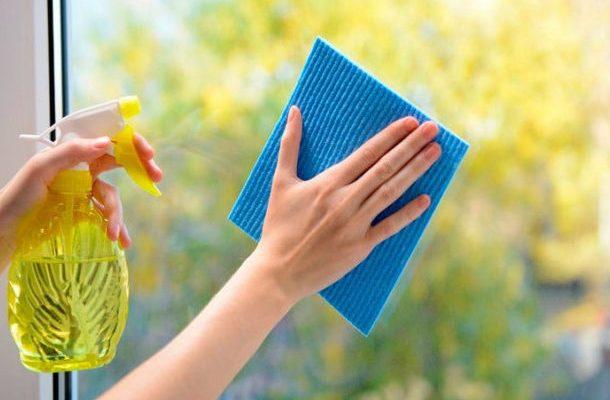 Чем мыть окна чтобы не оставалось разводов