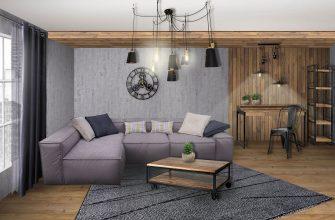 Оттенки и стили оформления однокомнатной квартиры