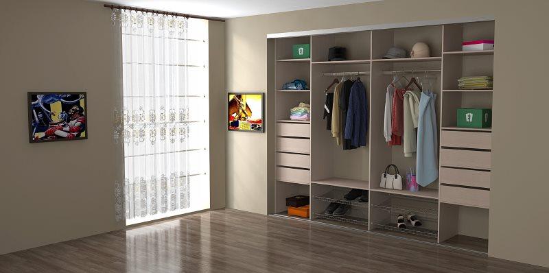 Что представляет собой встроенный шкаф
