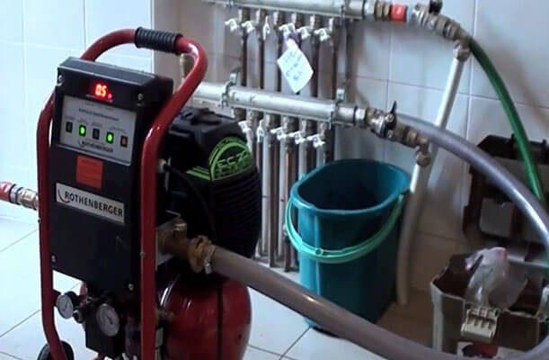 Оборудование и технологии промывки систем отопления
