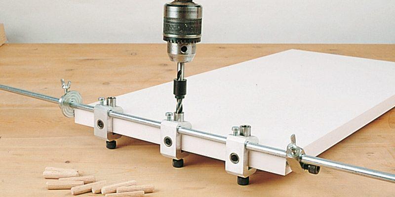 Виды мебельных кондукторов