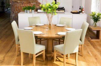 Как выбрать хороший стол для кухни