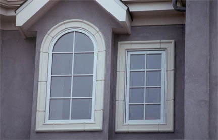 Декоративная отделка окна