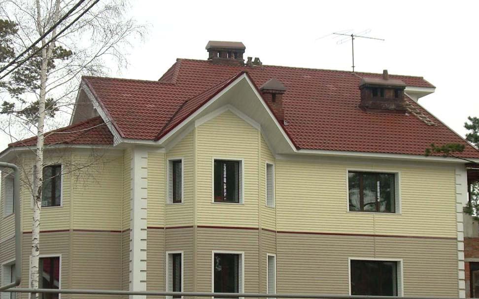 Дизайн фасадов домов из сайдинга