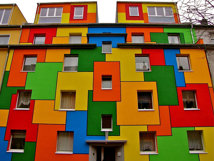 Дизайн фасадов жилых зданий