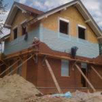 Фасады для СИП дома, возможные варианты отделки