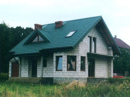 Дома из газобетона