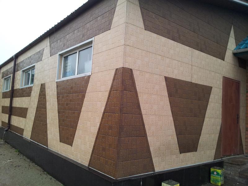 Фасад частного жилого дома