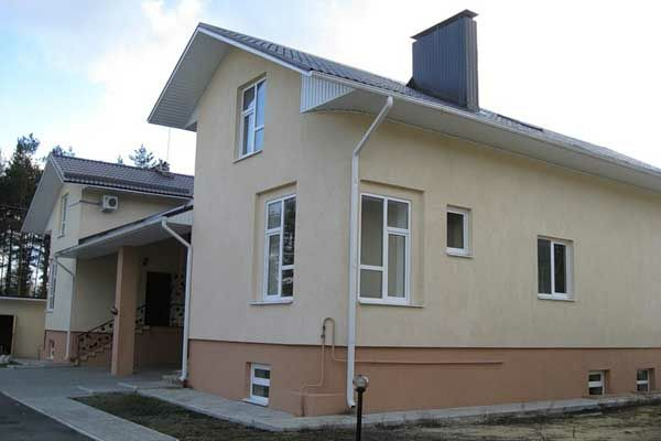 Оштукатуривание домов