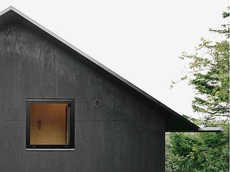 Фасад из фанеры