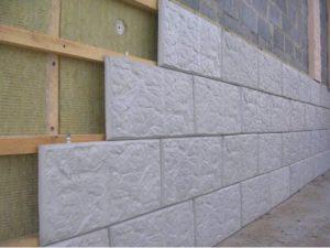 Фасадная плитка из бетона