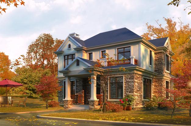Фасады кирпичных домов