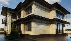 Фасады коттеджей