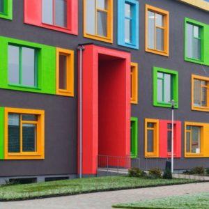 Искусство сочетания цветов фасада дома