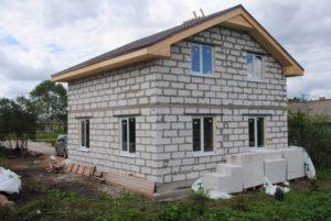Использование газобетона для строительства домов
