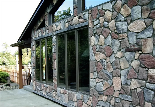 Использование камня для облицовки