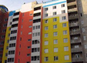Как и чем красятся фасады зданий
