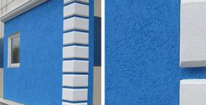 Как выглядит декоративная штукатурка фасада