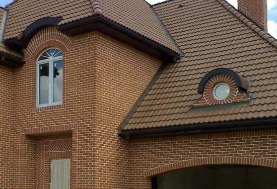 Красивая облицовка здания