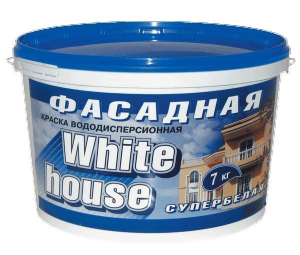 Краска для фасадов вододисперсионная