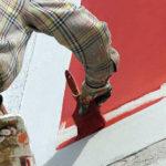 Выбор краски для окраски фасадов зданий