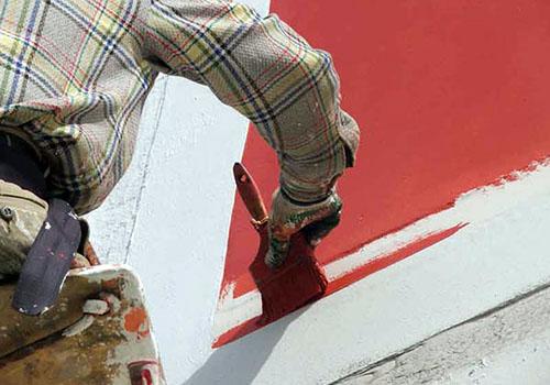 Краски для внешней отделки фасада