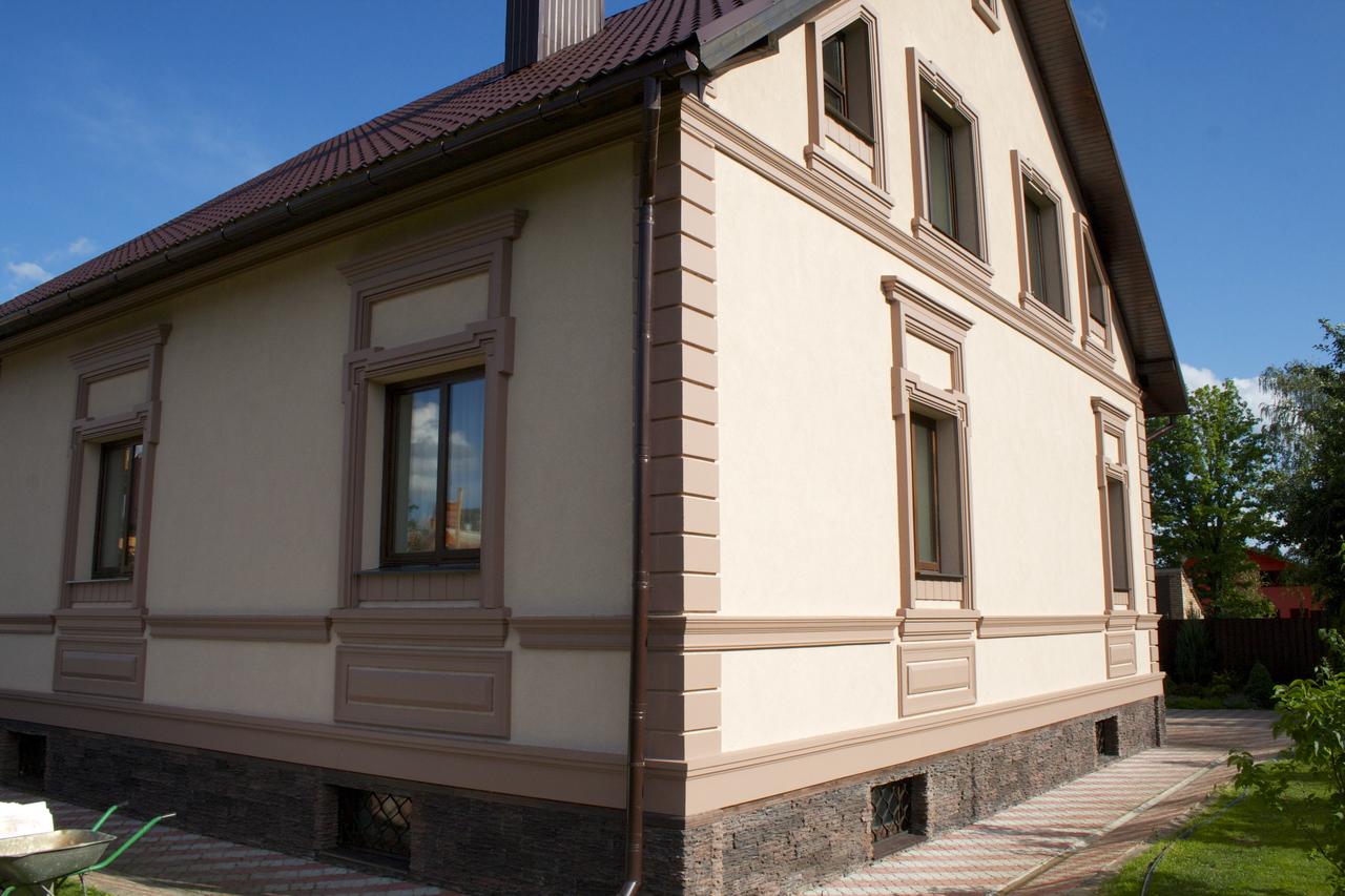 Мокрый фасад и его преимущества