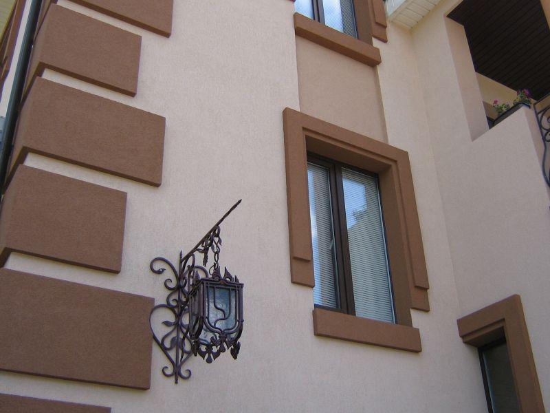 Мокрый фасад с последующей покраской