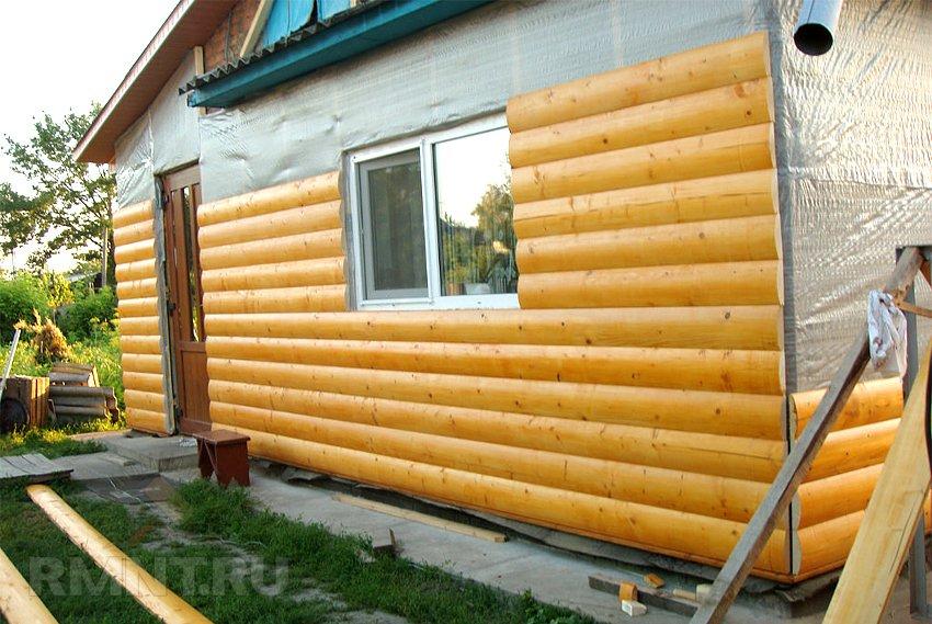 Монтаж деревянного блок хауса своими руками