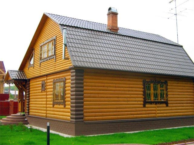 Монтаж деревяного сайдинга
