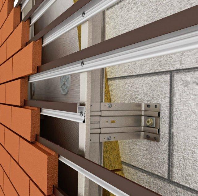 Наиболее популярные виды облицовки вентилируемого фасада