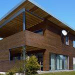 Отделка фасада дома с помощью современных материалов, ее виды и фото примеры