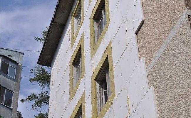 Обшивка фасада пеноплексом