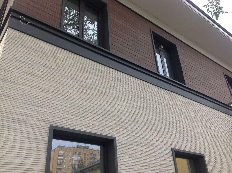 Сайдинг для отделки фасадов под кирпич и камень