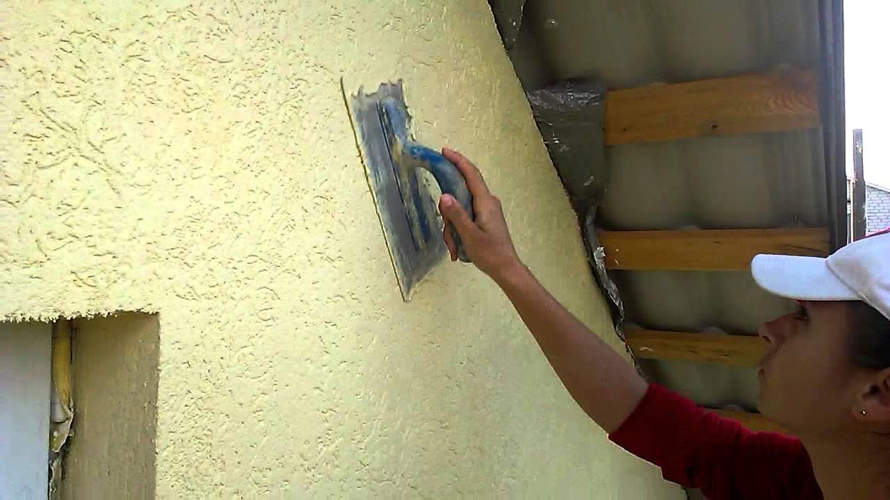 Оштукатурить фасад можно самостоятельно
