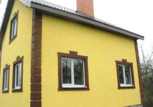 Отделка металлическим сайдингом фасада дома