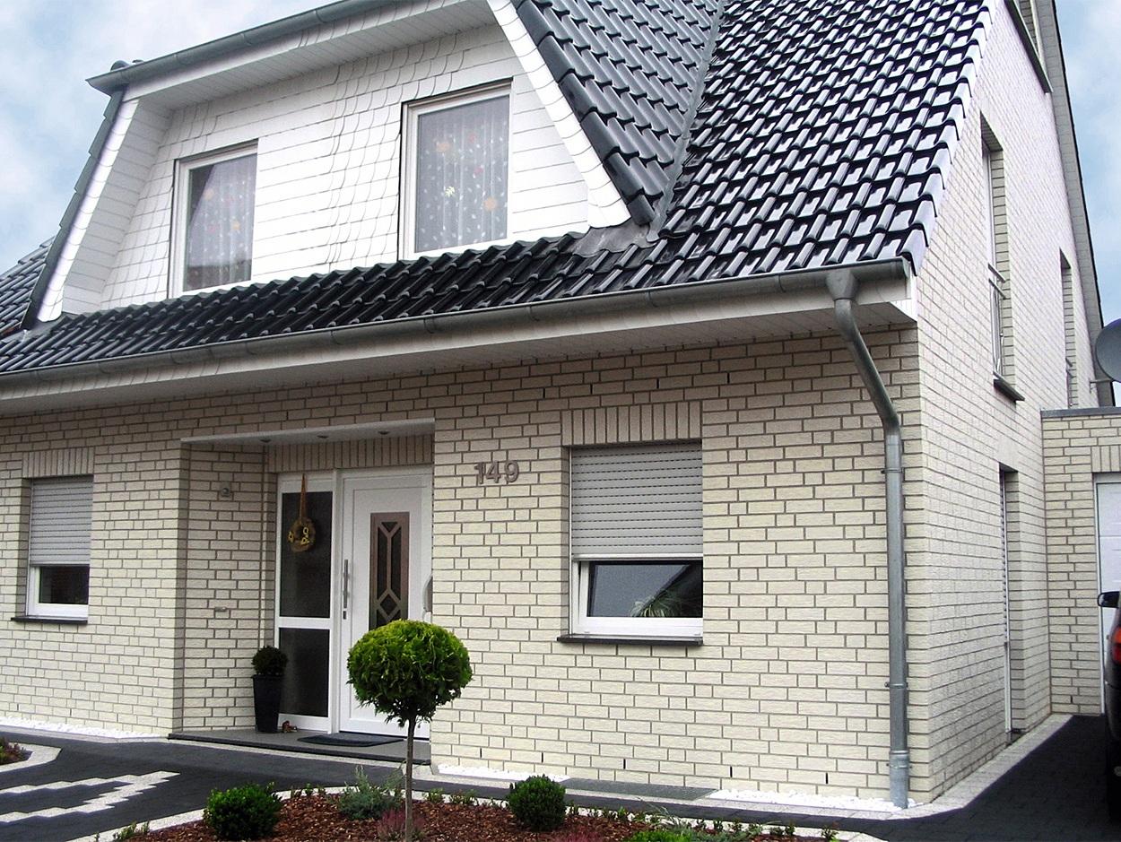 Отделка фасада дома - варианты