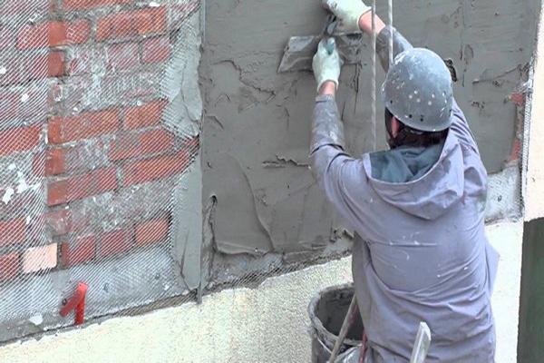 Отштукатурить фасад дома своими руками