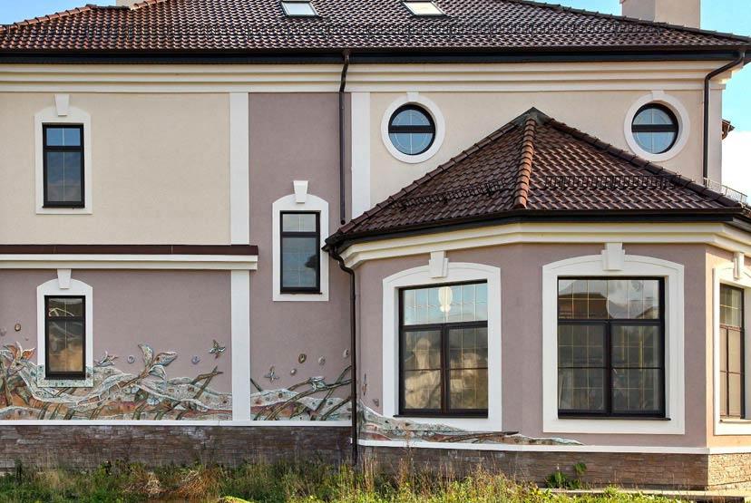 Отделка и украшение фасадов