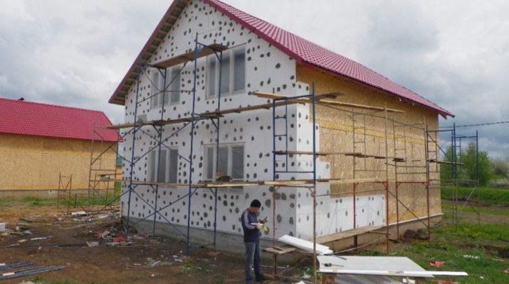 Отделка мокрый фасад