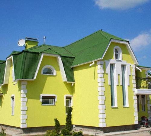 Покраска фасадов домов - советы