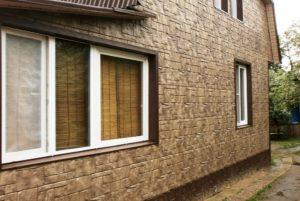 При современном строительстве фасадные панели применяют для обшивки фасадов