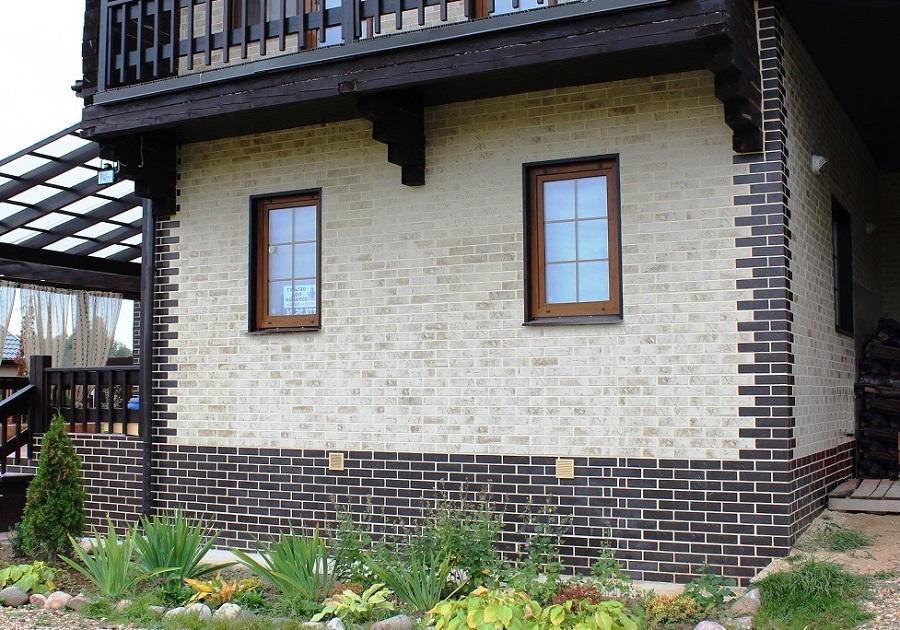 Применение клинкерных панелей в отделке дома